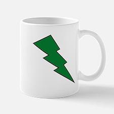 Green Lightning Bolt Mugs