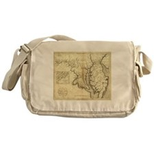 Vintage Map of Maryland (1796) Messenger Bag