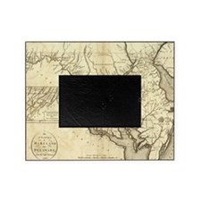 Vintage Map of Maryland (1796) Picture Frame