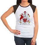 Wooden Family Crest Women's Cap Sleeve T-Shirt