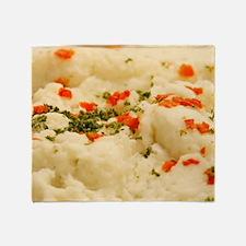 Mashed Potatoes Throw Blanket