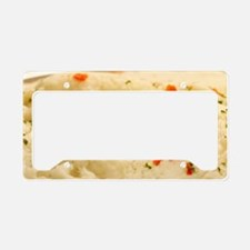 Mashed Potatoes License Plate Holder