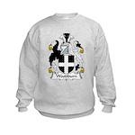 Woodburn Family Crest Kids Sweatshirt
