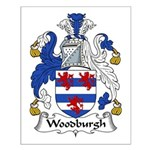Woodburgh Family Crest Small Poster