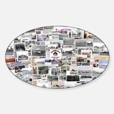 Cool Marauder Sticker (Oval)