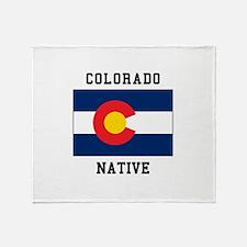 Colorado Native Throw Blanket