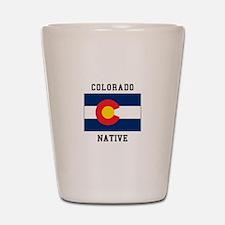Colorado Native Shot Glass