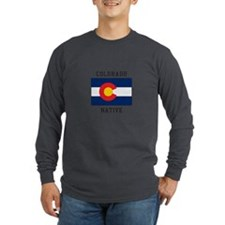 Colorado Native Long Sleeve T-Shirt