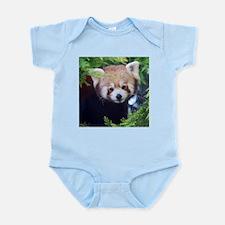Cute Red panda Infant Bodysuit