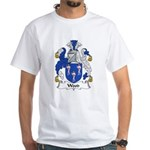 Wood Family Crest White T-Shirt