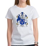 Wood Family Crest Women's T-Shirt
