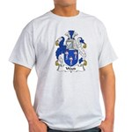Wood Family Crest Light T-Shirt
