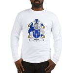 Wood Family Crest Long Sleeve T-Shirt