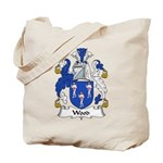 Wood Family Crest Tote Bag