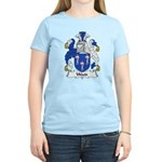 Wood Family Crest Women's Light T-Shirt