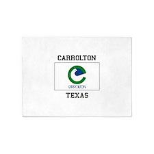 Carrollton Texas 5'x7'Area Rug
