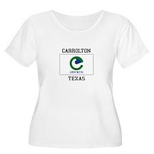 Carrollton Texas Plus Size T-Shirt