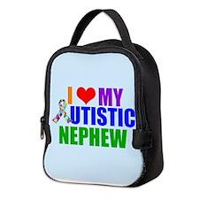 Autistic Nephew Neoprene Lunch Bag