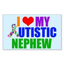 Autistic Nephew Decal