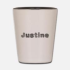 Justine Wolf Shot Glass