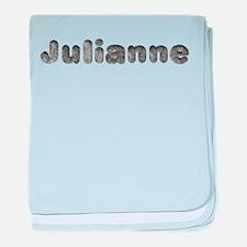 Julianne Wolf baby blanket