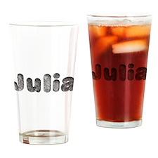 Julia Wolf Drinking Glass