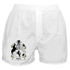 Wolfe Family Crest Boxer Shorts