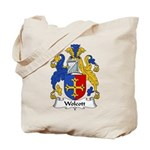 Wolcott Family Crest Tote Bag