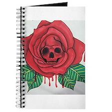 Skull Rose Journal