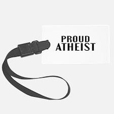 Proud Atheist Luggage Tag