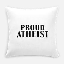 Proud Atheist Everyday Pillow
