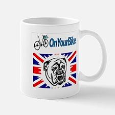 On your bike bulldog Mug