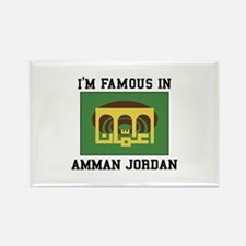 I'M Famous In Amman Jordan Magnets