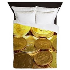 Gold Hoard Queen Duvet