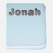 Jonah Wolf baby blanket