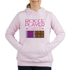 Bocce Player Women's Hooded Sweatshirt