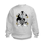 Wise Family Crest Kids Sweatshirt