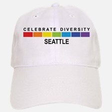 SEATTLE - Celebrate Diversity Baseball Baseball Cap