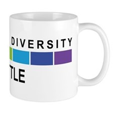 SEATTLE - Celebrate Diversity Small Mug
