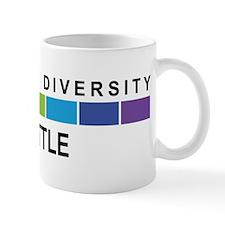 SEATTLE - Celebrate Diversity Small Small Mug
