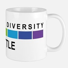 SEATTLE - Celebrate Diversity Small Small Mug