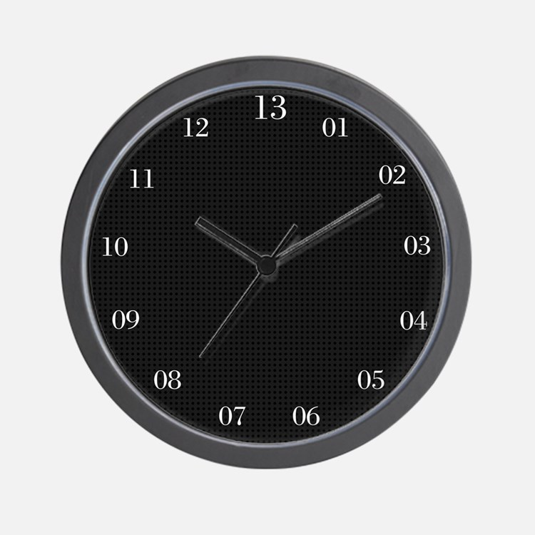 13 Hour Clock Wall Clock