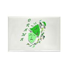 Drama - design 3 Rectangle Magnet (100 pack)