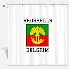 Brussells Belgium Shower Curtain