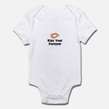 Kiss Your Forester Infant Bodysuit