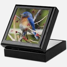 Red Bud Bluebird Keepsake Box