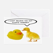I CAN'T BELIEVE YOU GOT SURGERY Greeting Card