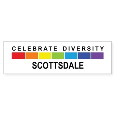 SCOTTSDALE - Celebrate Divers Bumper Sticker