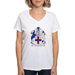 Winterbottom Family Cres Women's V-Neck T-Shirt