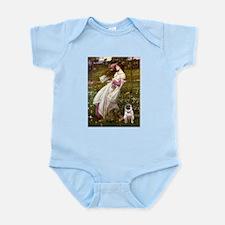 Windflowers / Pug Infant Bodysuit